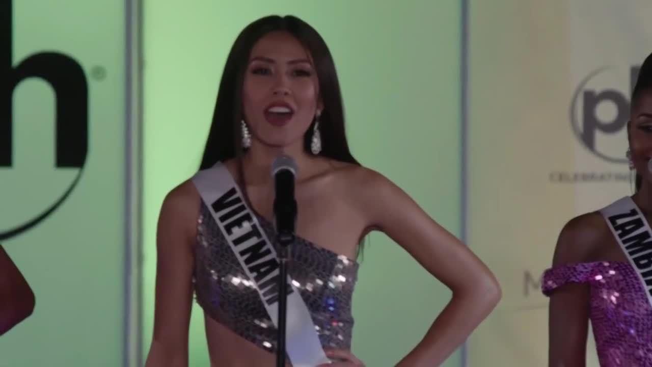 Dấu ấn Nguyễn Thị Loan ở Miss Universe 2017