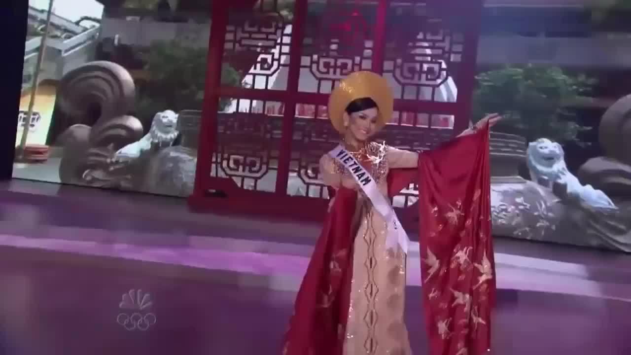 Dấu ấn Thùy Lâm ở Miss Universe 2008