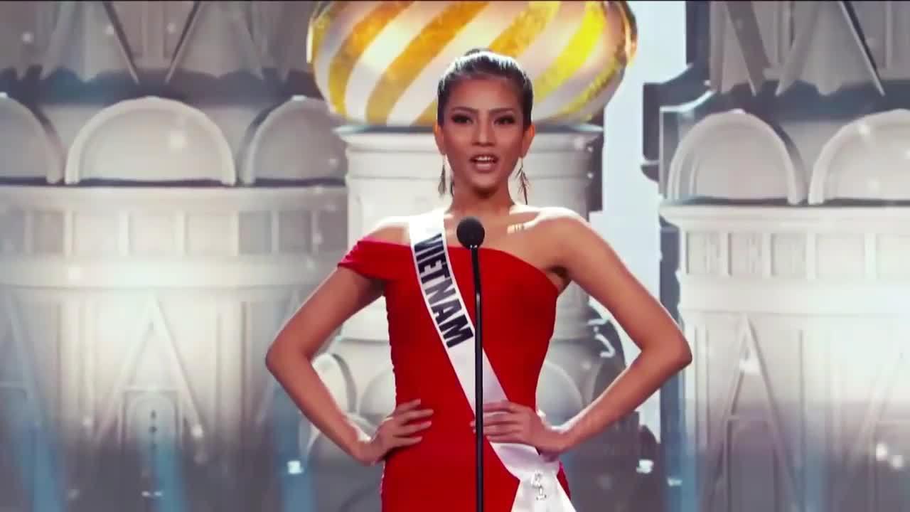 Dấu ấn Trương Thị May ở Miss Universe 2013