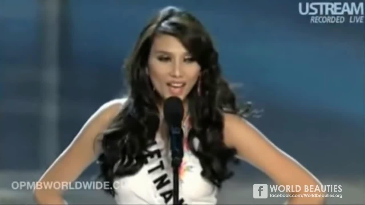 Dấu ấn Võ Hoàng Yến ở Miss Universe 2009