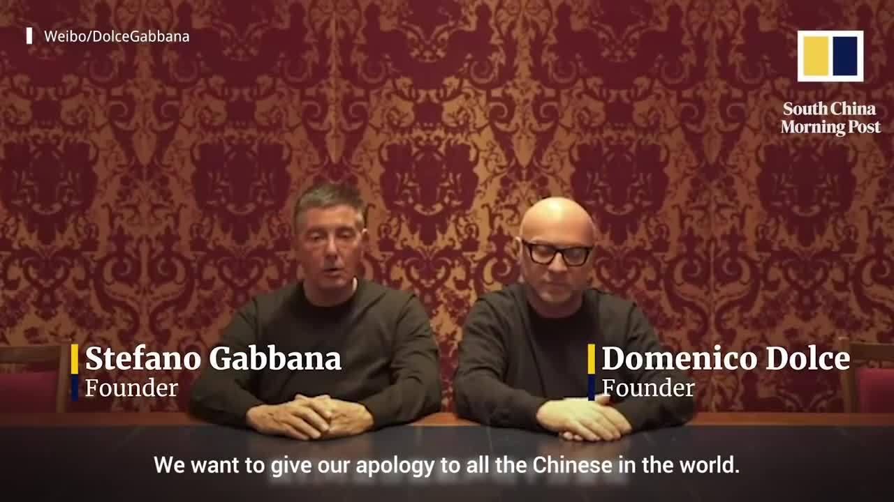 Dolce & Gabbana xin lỗi Trung Quốc