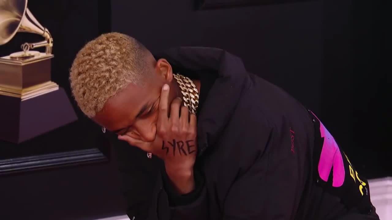 Jaden Smith ở Grammy 2018