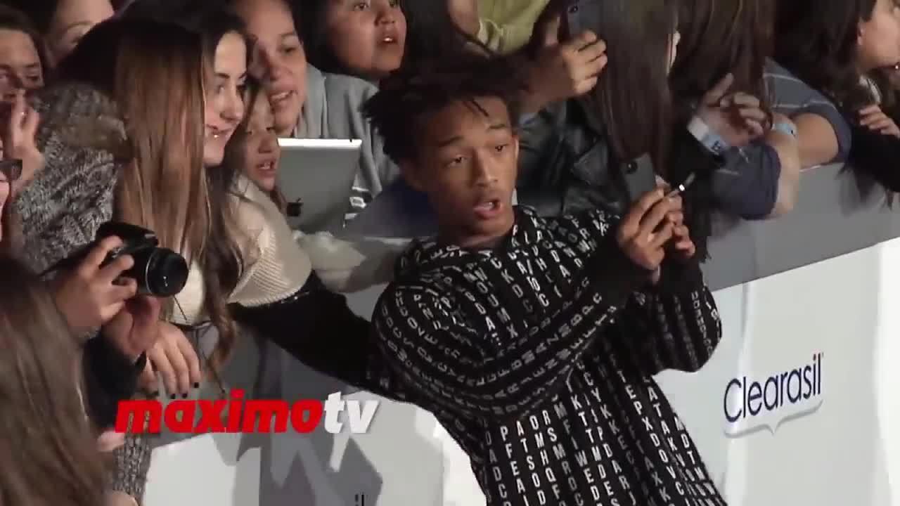 Jaden Smith tránh Kylie Jenner ở thảm đỏ