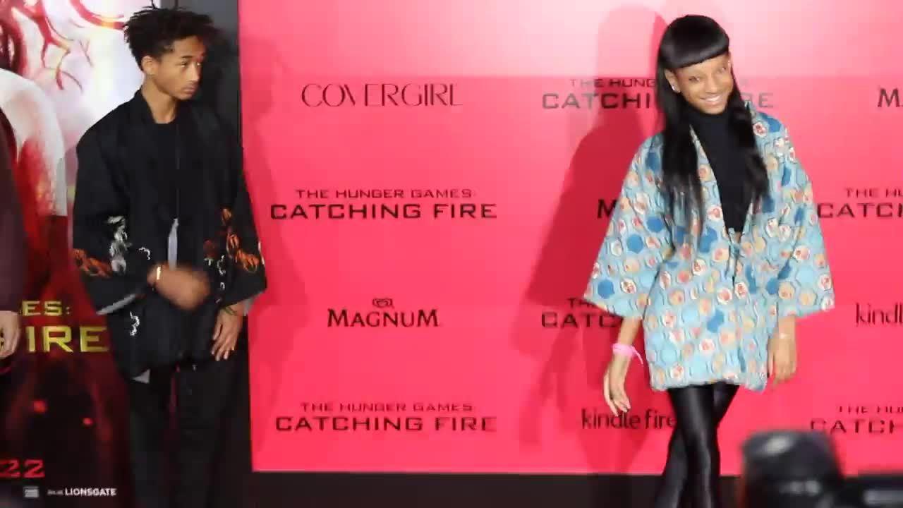 Jaden Smith và Willow Smith ở thảm đỏ 2013