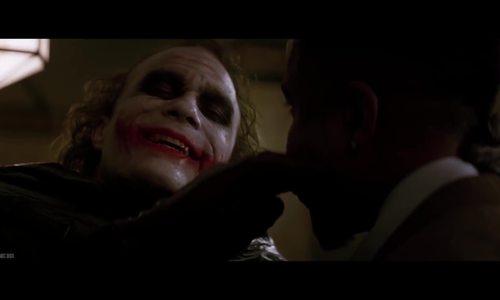 Cảnh diễn điên loạn của Joker trong The Dark Knight