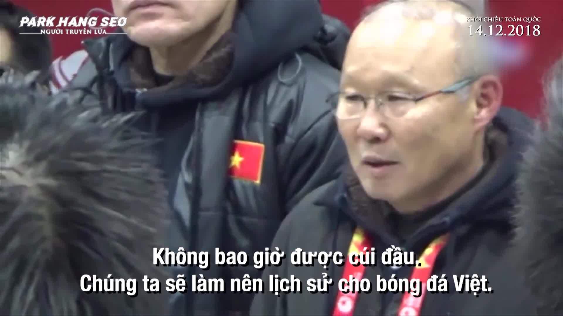 Trailer phim tai lieu Park Hang Seo nguoi truyen lua U23 Vietnam