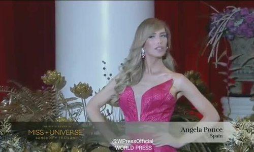Hoa hậu chuyển giới catwalk ở Miss Universe 2018