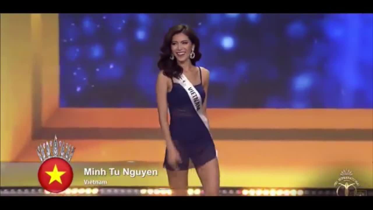 Các màn trình diễn của Minh Tú ở Miss Supranational 2018