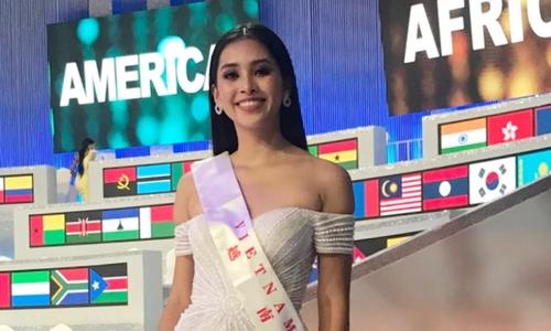 Trần Tiểu Vy: 'Tôi tiếc vì không thể vào Top 12 Miss World'
