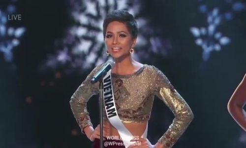 H'Hen Niê - bán kết Miss Universe VnE
