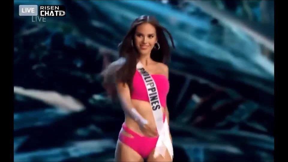 Mỹ nhân Philippines ở đêm thi bán kết