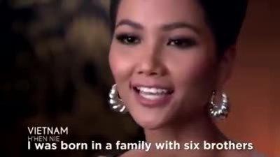 H'Hen Niê giới thiệu câu chuyện cuộc sống bản thân tại Miss Universe