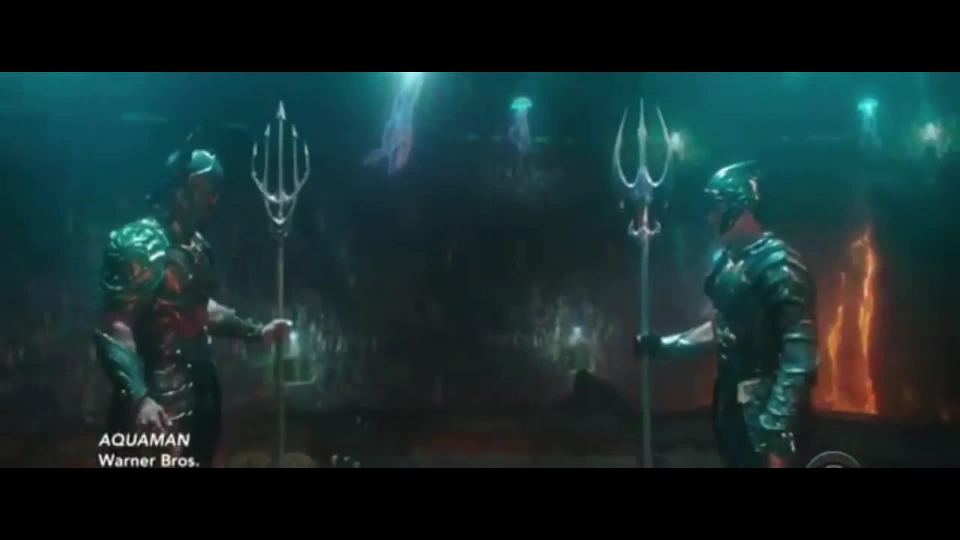 Aquaman đấu vua Orm