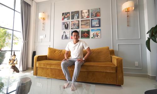 Nhà phố 5 tầng của Lê Trung Cương