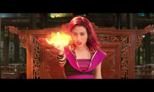 Táo Quân cưỡi cá đấu quỷ lửa trong phim Tết Táo Quậy