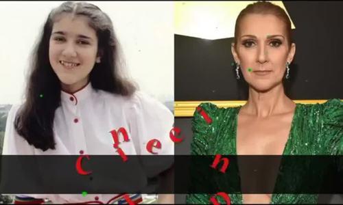 Thay đổi của Celine Dion theo thời gian
