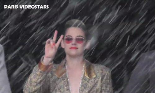 Kristen Stewart đến xem show couture Chanel Xuân Hè 2019