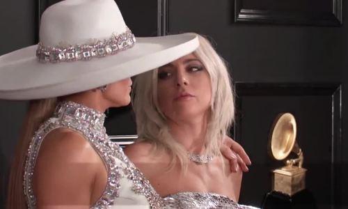 Lady Gaga và Jennifer Lopez ở Grammy 2019