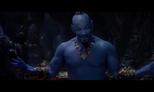 Thần đèn của 'Aladdin' bản mới bị chế nhạo trong trailer