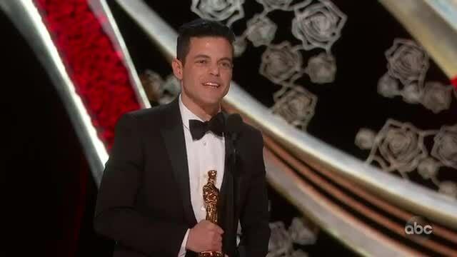 Rami Malek nhận giải 'Nam chính xuất sắc'
