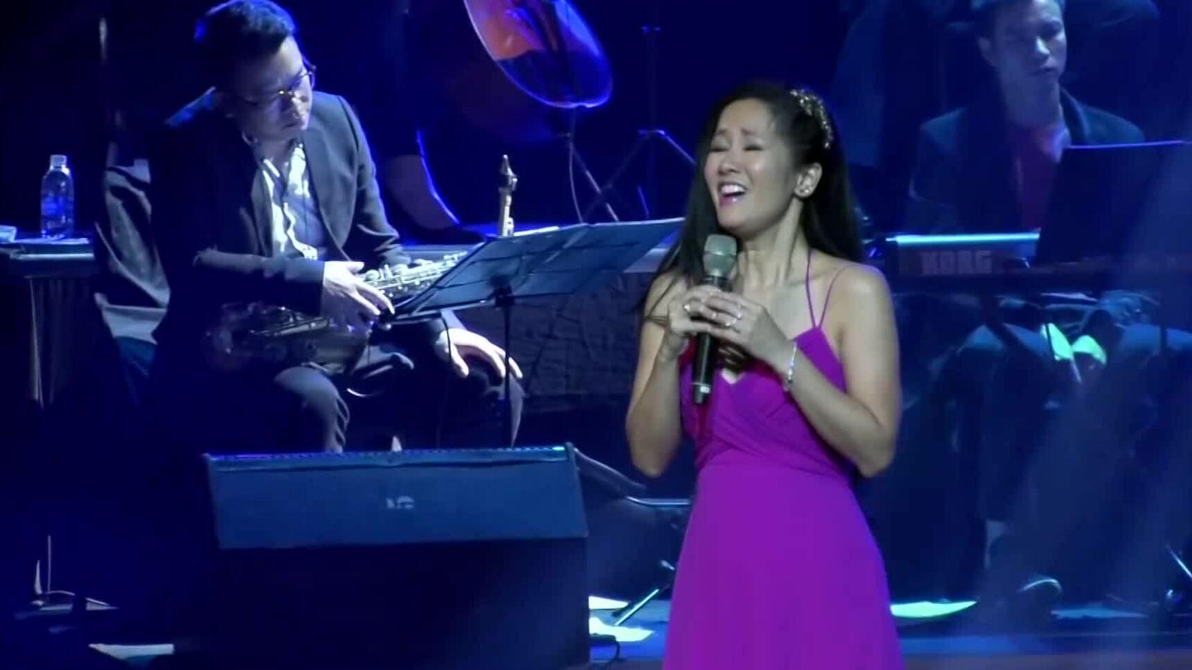 Hồng Nhung hát 'Hạ trắng'
