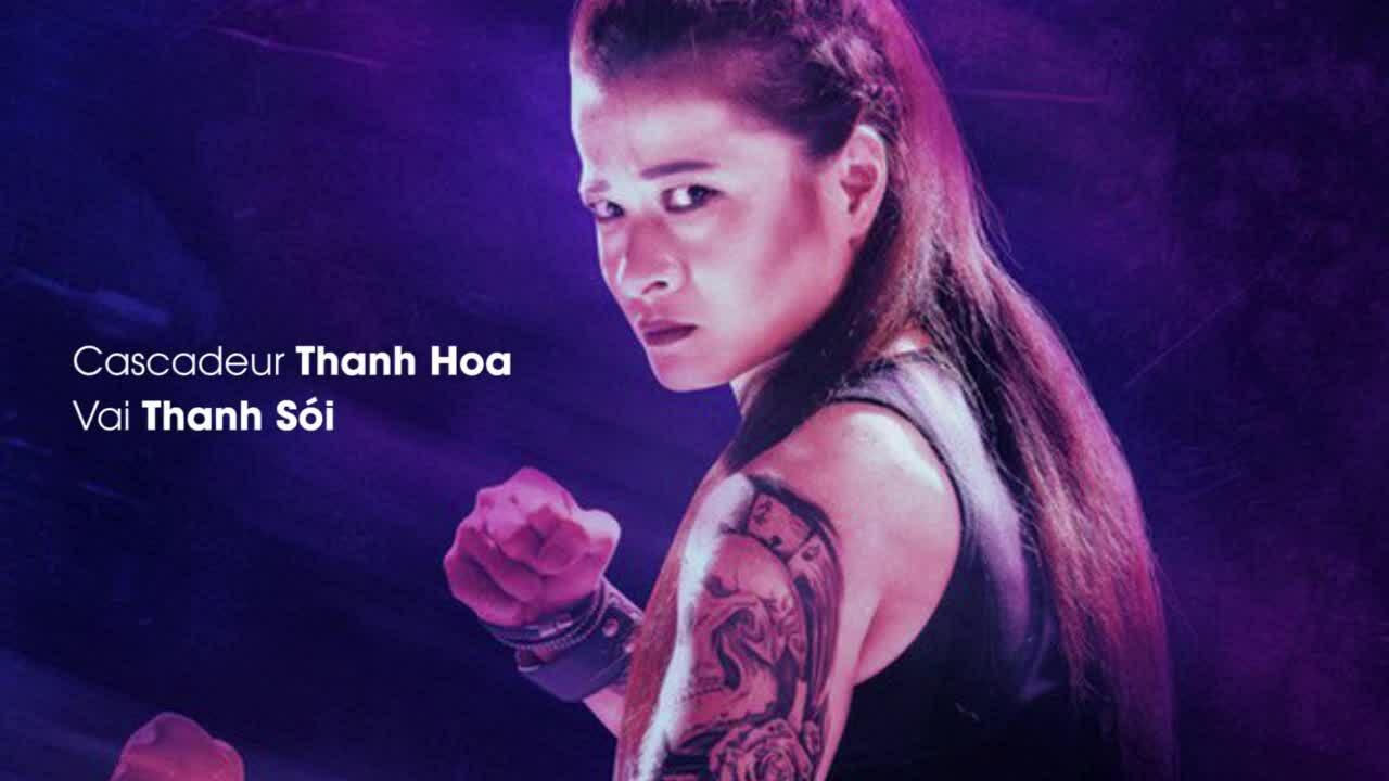 Nữ cascadeur phim 'Hai Phượng': 'Ngô Thanh Vân dạy tôi cách diễn vai ác nữ'