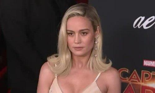 Brie Larson ở thảm đỏ ra mắt Captain Marvel