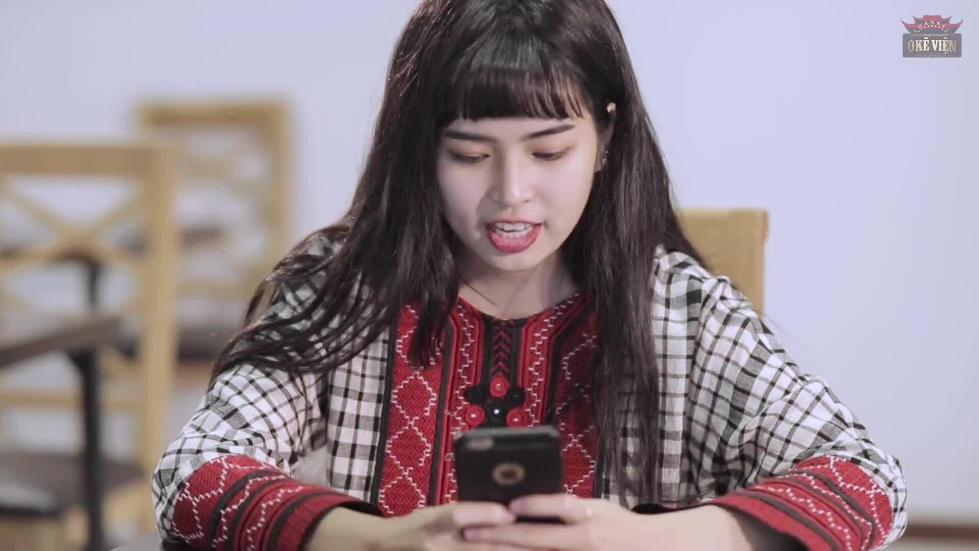 Diễn xuất của Đỗ Khánh Vân (Mắt biếc) trong phim sitcom