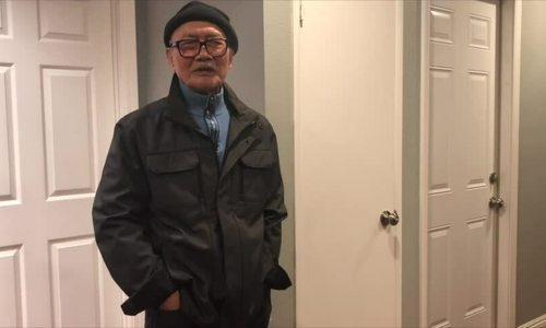 Ngọc Huyền thăm nhà riêng của nghệ sĩ Diệp Lang tại Mỹ