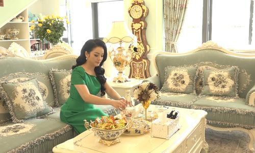 Căn hộ sang trọng 250 m2 của vợ chồng Tân Nhàn