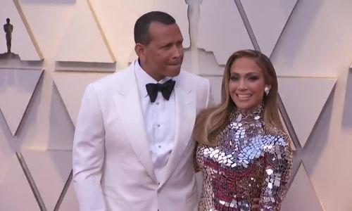 Jennifer Lopez và Alex Rodriguez ở Oscar 2019