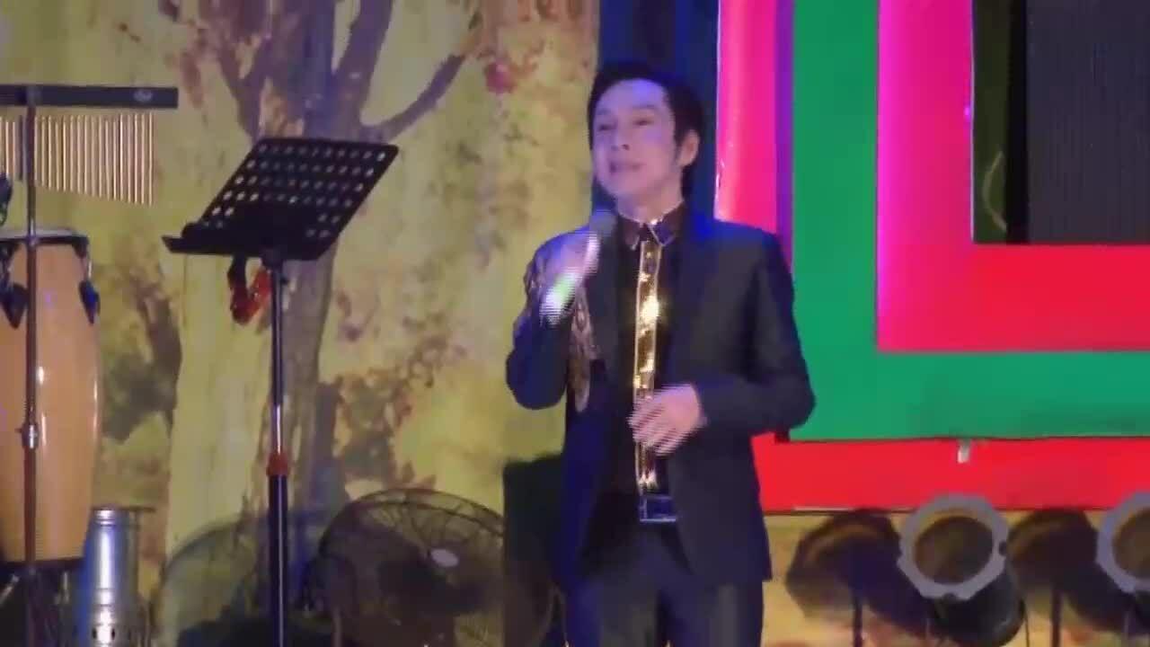 NSƯT Vũ Luân diễn trích đoạn 'An Lộc Sơn'