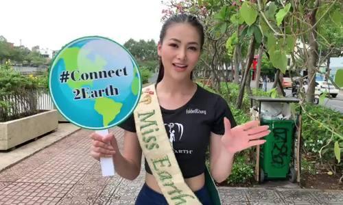 Phương Khánh nói tiếng Anh kêu gọi hưởng ứng Giờ Trái đất