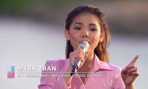 Trần Minh Như khóc nghẹn khi bị loại khỏi American Idol