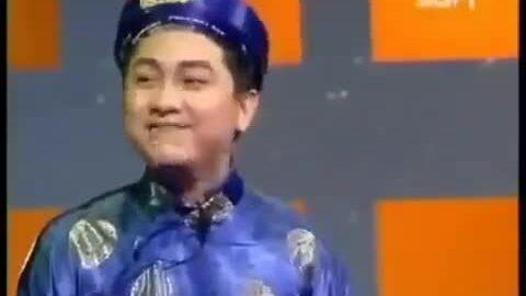 Anh Vũ vào vai chàng hàng xóm nhiều chuyện trong tiểu phẩm 'Vé số' - 'Gala cười 2003'