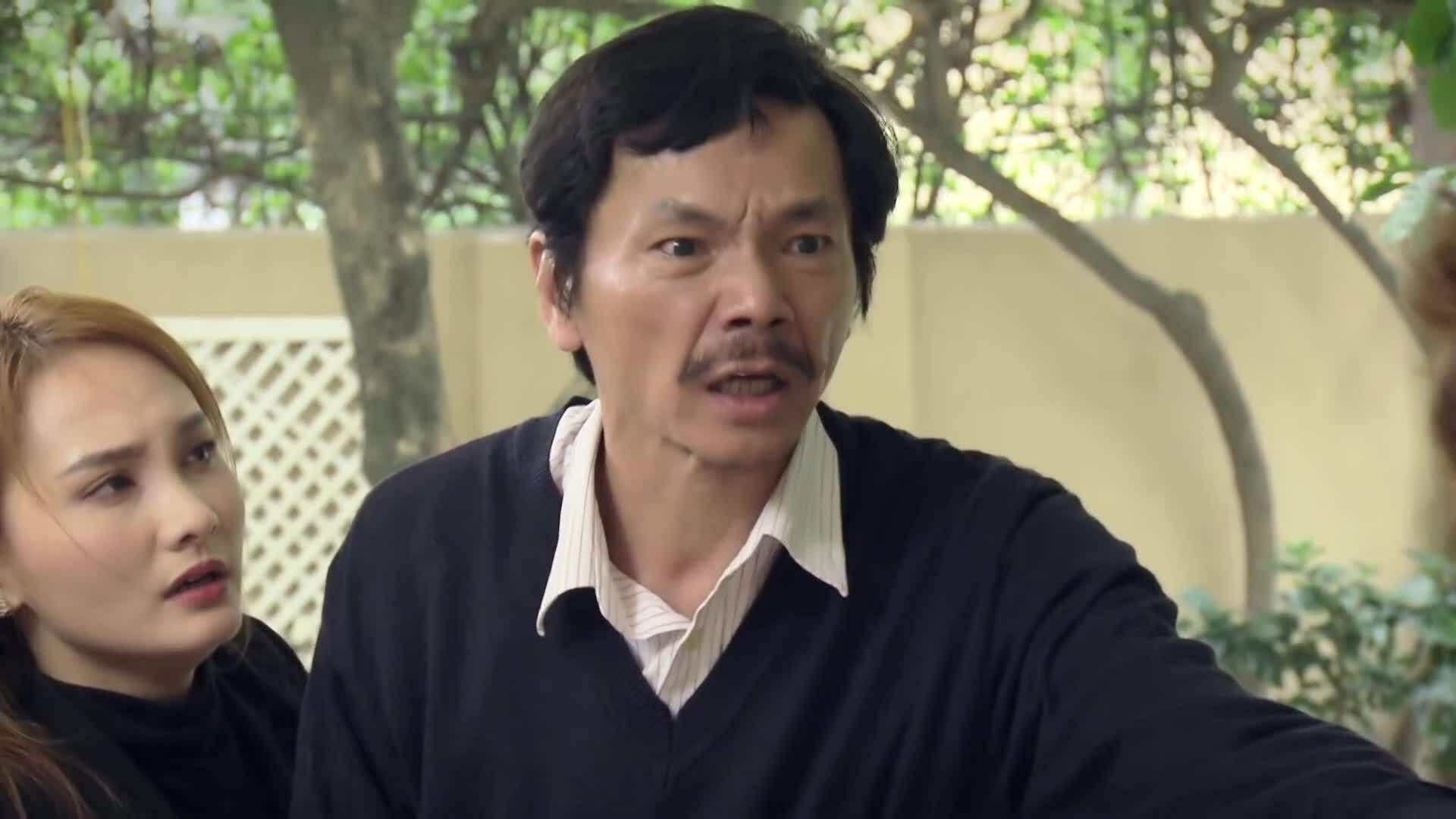 """Nghệ sĩ Trung Anh trong phim """"Về nhà đi con"""""""