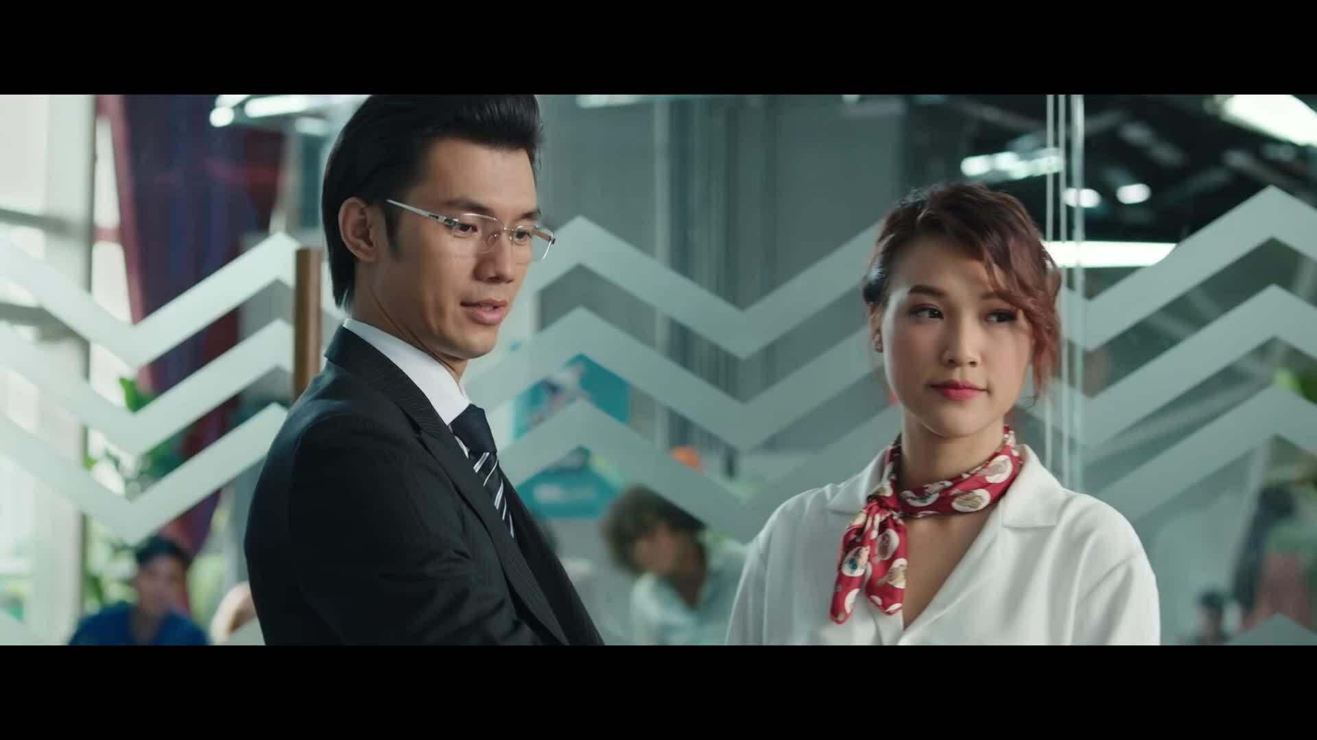 Hoàng Oanh, Quốc Anh diễn cảnh lãng mạn trong Ước hẹn mùa thu