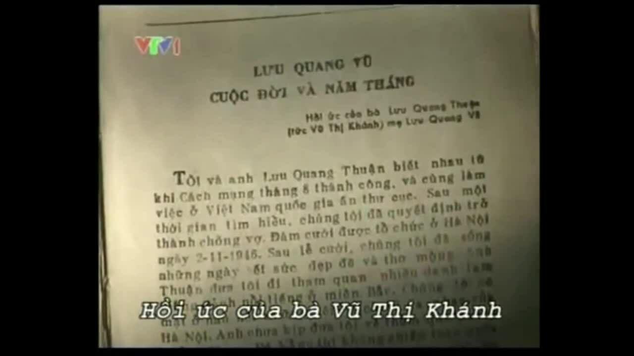 Phim tài liệu Lưu Quang Vũ