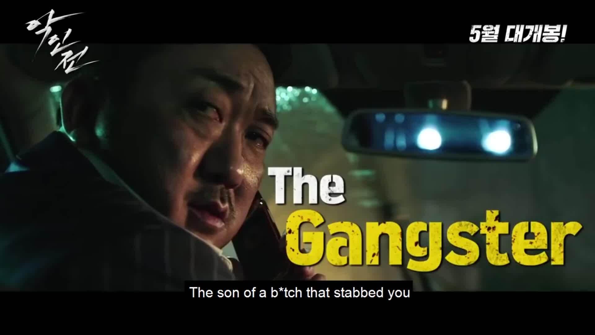 The Gangster, the Cop and the Devil  Ngày khởi chiếu: 31/5  Thể loại: Hình sự - Tâm lý