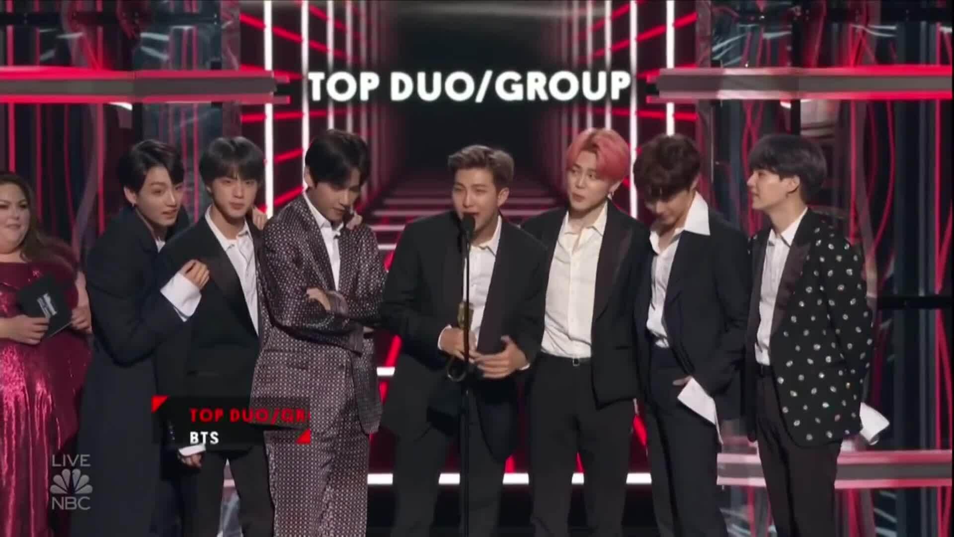 BTS nhận giải Billboard Music Awards