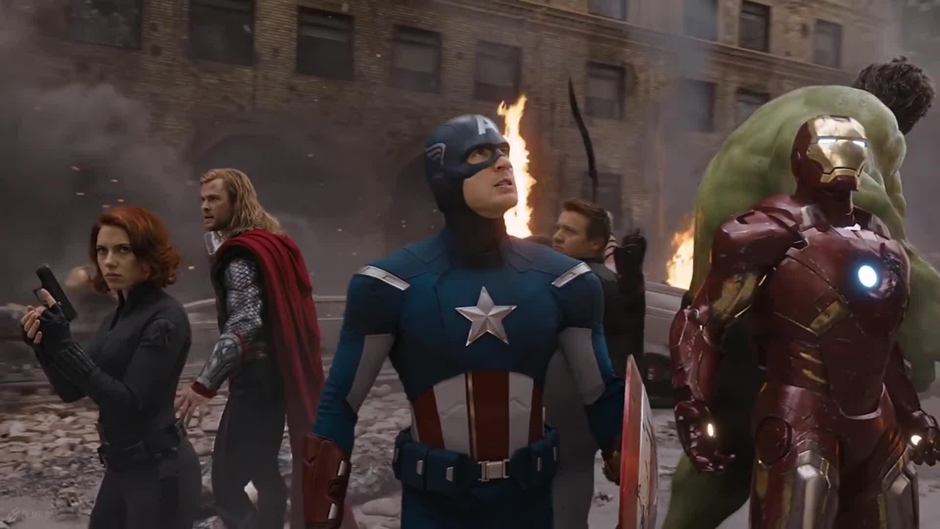 Trận chiến New York trong The Avengers (2012)