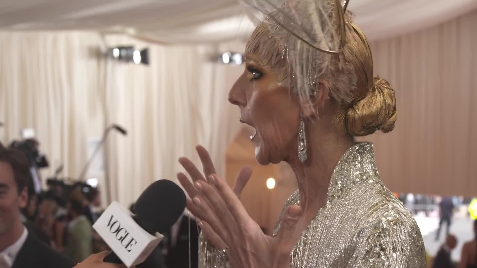 Celine Dion bối rối vì chủ đề Met Gala 2019