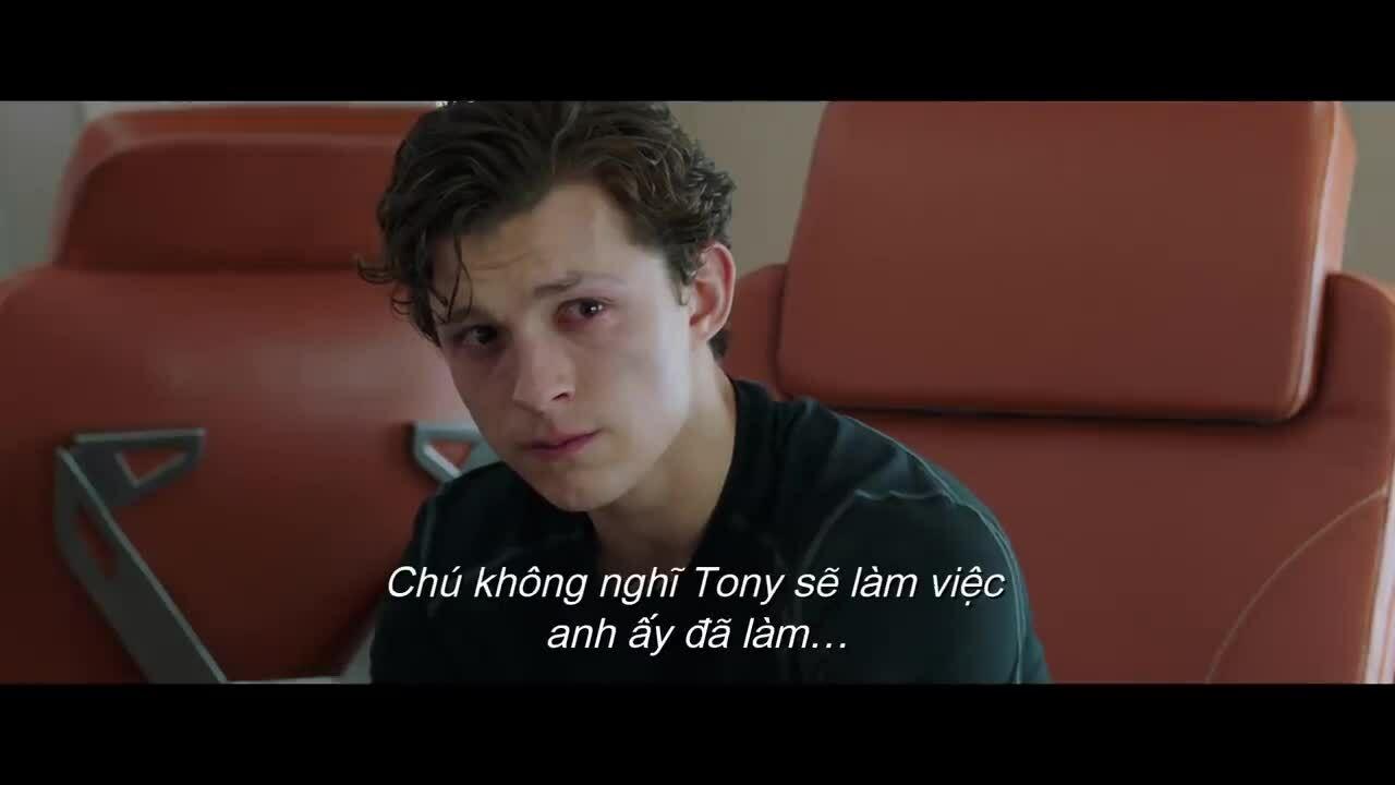 Spider-Man thương tiếc Iron Man trong Far From Home