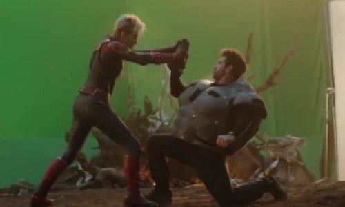 Cảnh phim 'Avengers: Endgame' khi không có kỹ xảo