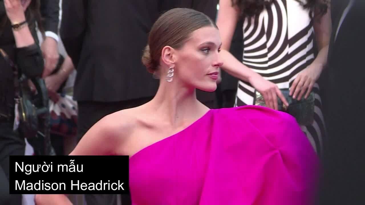 Cannes ngày bảy: Đầm hở vai, xẻ ngực lên ngôi