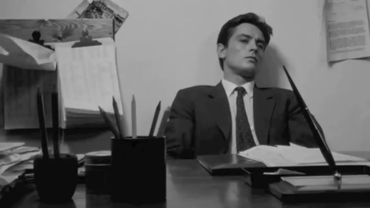 Các cảnh phim nổi tiếng của Alain Delon