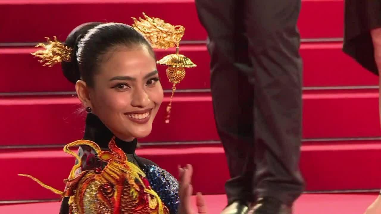 Cannes ngày chín: Trương Thị May khác biệt giữa dàn mỹ nhân Hollywood