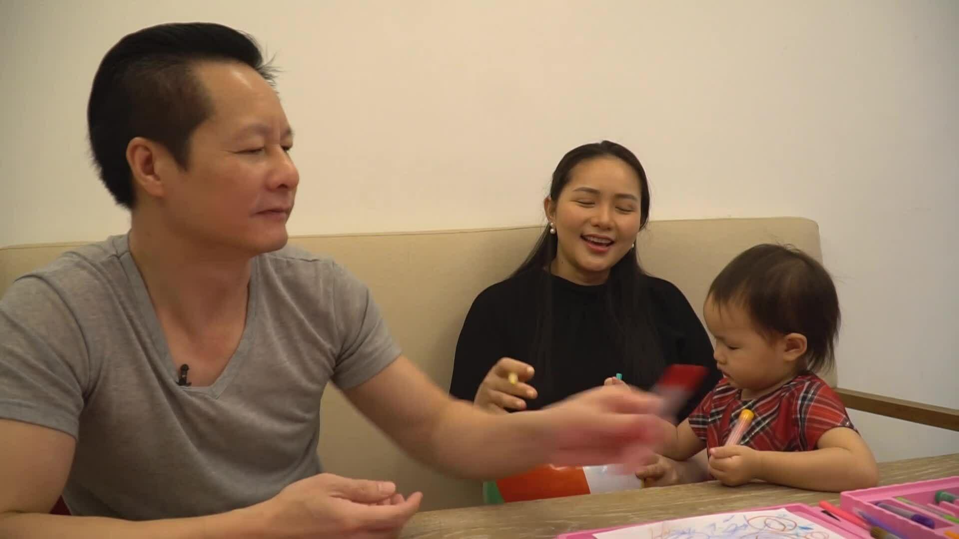 Gia đình đầm ấm của Phan Như Thảo