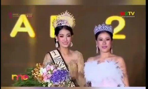 Người mẫu sinh 21 tuổi đăng quang Hoa hậu Hoàn vũ Myanmar 2019