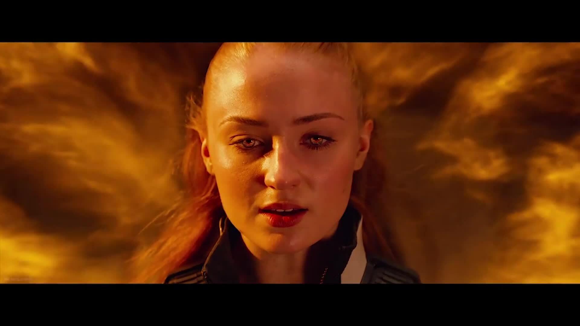 Jean Grey đánh Apocalypse